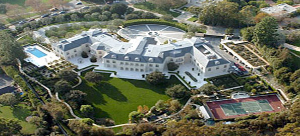 Aaron Spellings Manor - Top Ten Most Expensive Houses