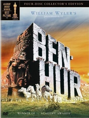 Ben Hur Top 10 Movies to Win Most Oscars