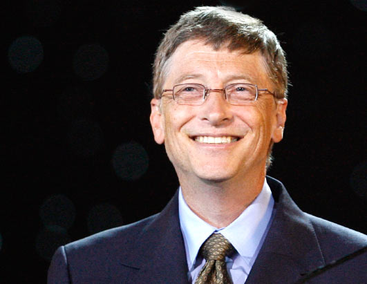 Bill Gates took the 2nd position with an estimated worth of $53 billion.