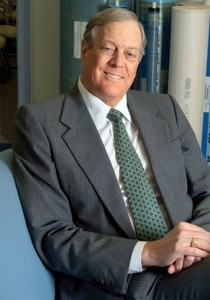 Charles Koch 210x300 Top 10 Richest Americans 2011