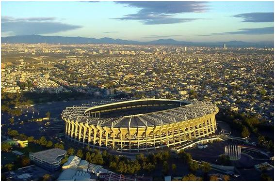 Estadio Azteca Top 10 Ten Biggest Stadiums in The World by 2011
