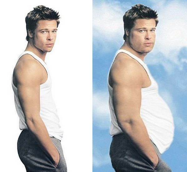 Fat Hollywood Celebs 2jpg 10 Funny Photos to Warn You of Photoshop Effects