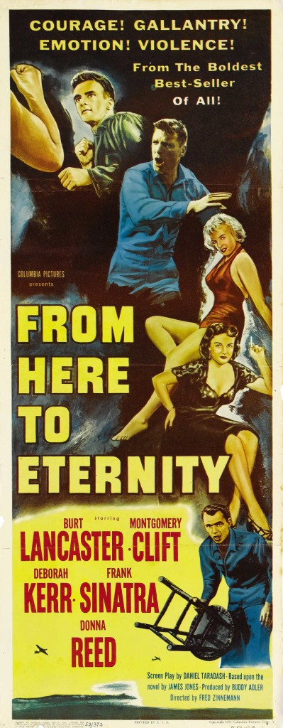From Here to Eternity 399x1024 Top 10 Movies to Win Most Oscars