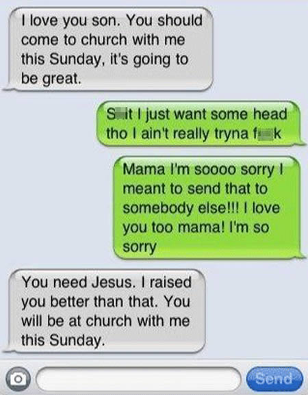 Funny iPhone Messages 3 10 Most Funny iPhone Text Message Fails