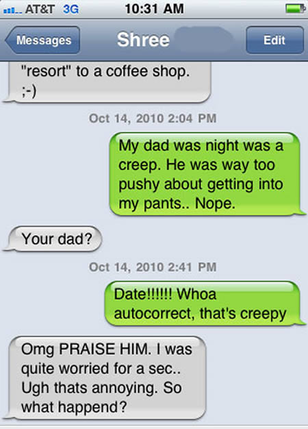 Funny iPhone Messages 4 10 Most Funny iPhone Text Message Fails