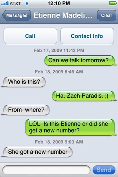 Funny iPhone Messages 7 10 Most Funny iPhone Text Message Fails