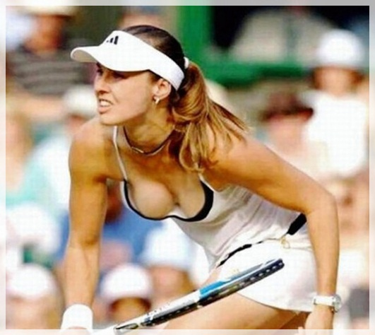 Martina Hingus hot 2011 Top 10 Hottest and Sexiest Tennis Players