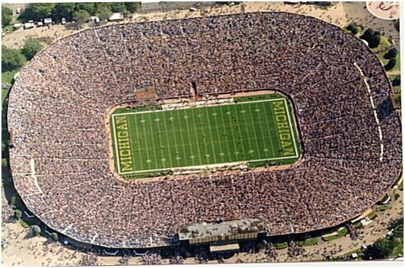 Michigan Stadium Top 10 Ten Biggest Stadiums in The World by 2011