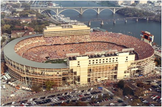 Neyland Stadium Top 10 Ten Biggest Stadiums in The World by 2011