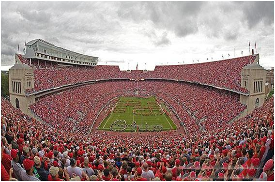 Ohio Stadium Top 10 Ten Biggest Stadiums in The World by 2011