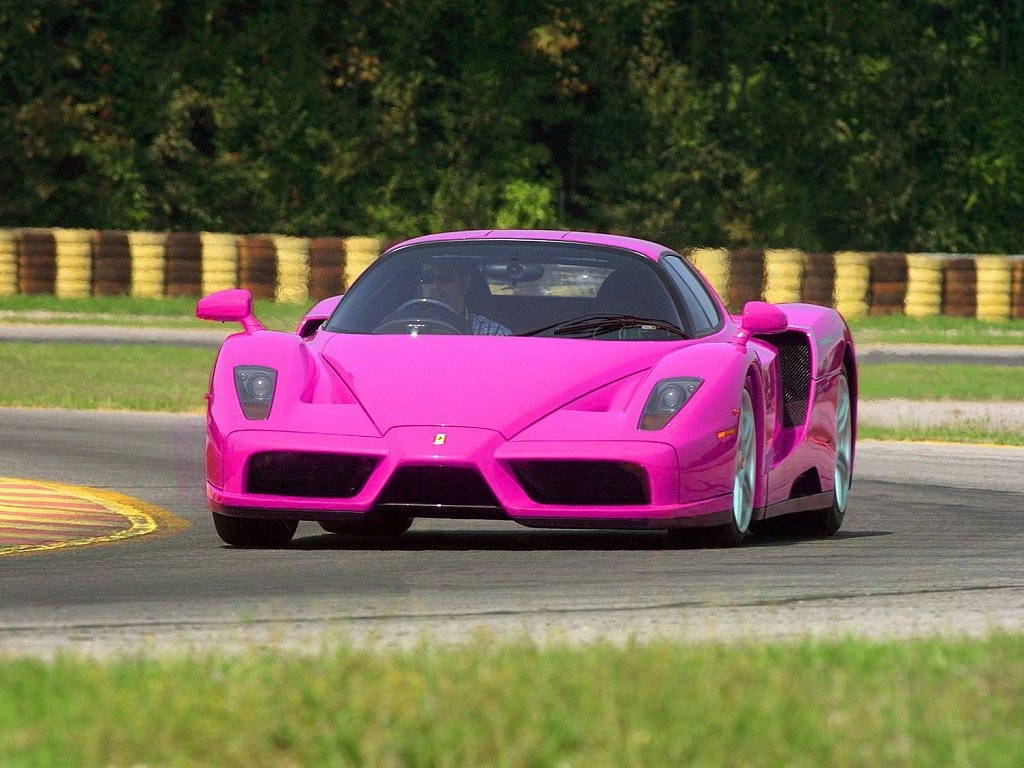 Pink Ferrari Enzo fastest cars 2011 Top 10 Fastest Cars in The World For 2010   2011