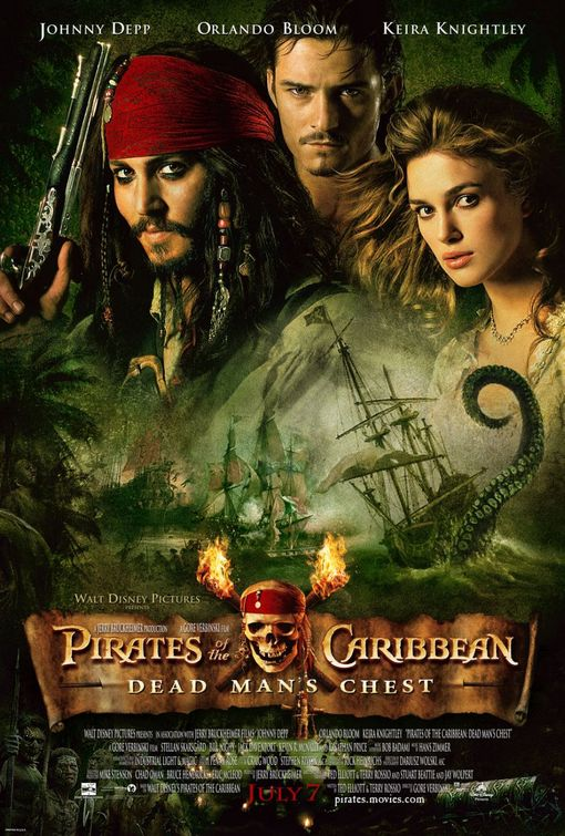Pirates of the Caribbean Dead Mans Chest Top 10 Most Expensive Hollywood Movies Ever