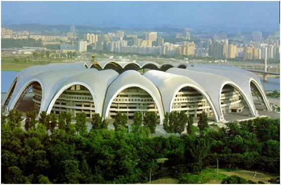 Rungrado May Day Stadium Top 10 Ten Biggest Stadiums in The World by 2011