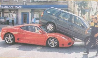 funny parking fail 7 10 Ways Not to Park Your Car   Parking Fail Pics