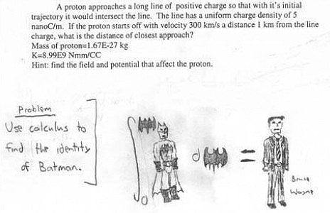 high school exam Top 10 Most Funny Exam Answers