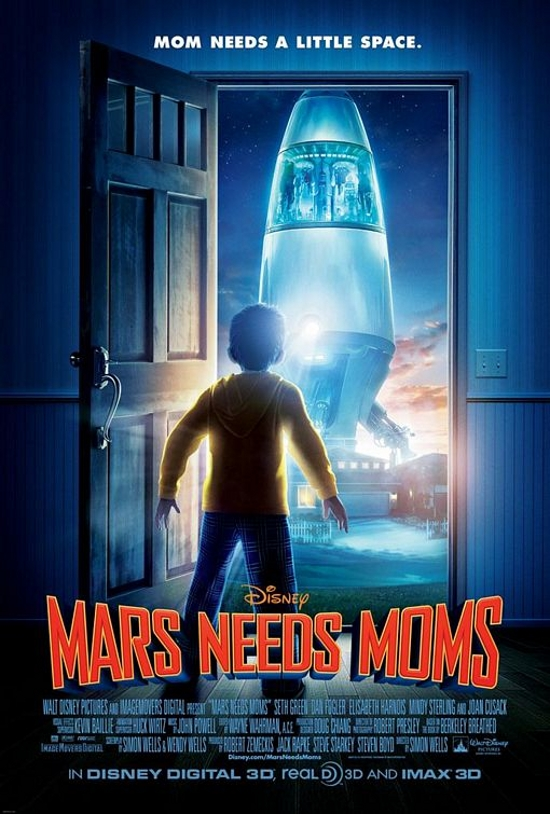 mars needs moms movie poster Top 10 Most Anticipated Animated Movies in 2011
