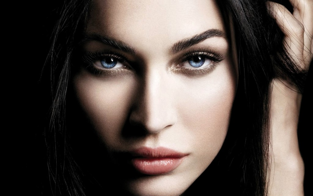 hd widescreen wallpapers. megan fox face hd widescreen
