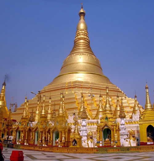 most beautiful building 3rd Shwedagon Pagoda Yangon Myanmar Top 10 Most Beautiful Buildings in The World by 2011