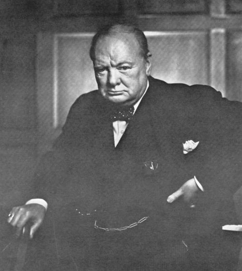 most famous photos Winston Churcill by Yousuf Karsh Top 10 Most Famous Photographs