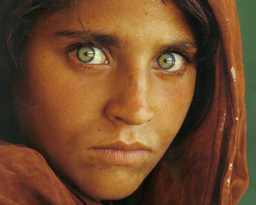 most famous photos afgan girl by steven mccurry Top 10 Most Famous Photographs