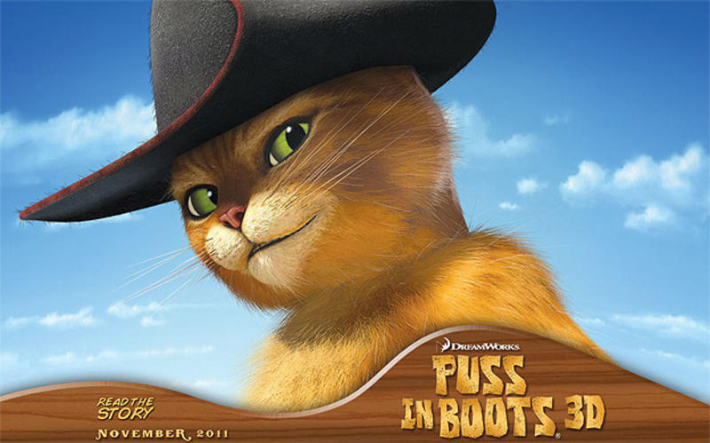 puss in boots movie 2011 Top 10 Most Anticipated Animated Movies in 2011