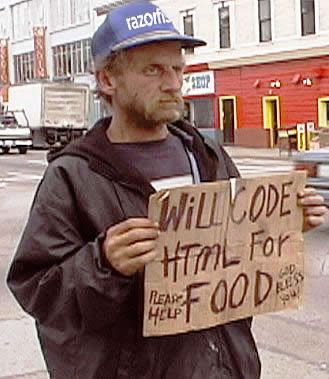 5 Top 10 Hilarious Homeless Signs