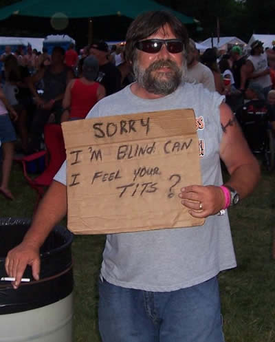9 Top 10 Hilarious Homeless Signs