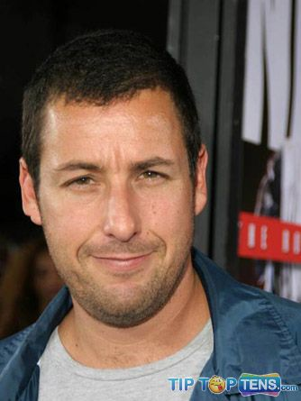 Adam Sandler Top 10 Richest Male Actors in The World  2011