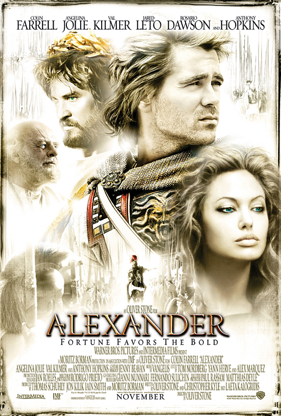 Alexander Movie Top 10 Best Movies by Angelina Jolie