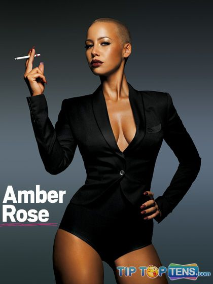 Amber Rose1 10 Famous Celebrities Who Used To Be a Stripper