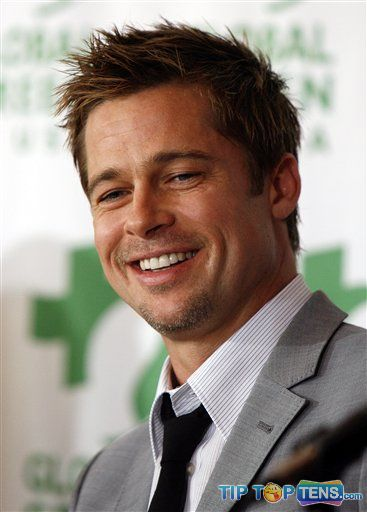 Brad Pitt Top 10 Richest Male Actors in The World  2011