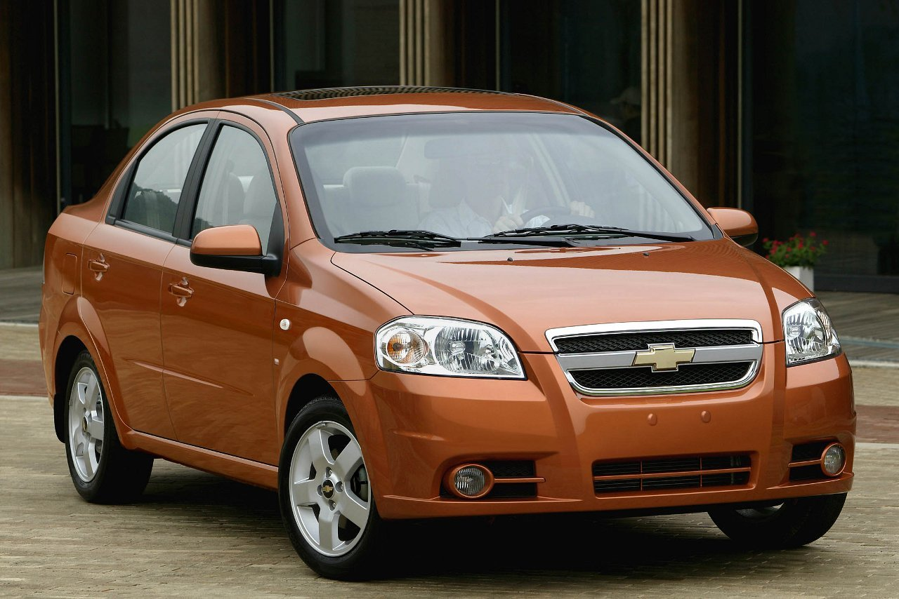 Chevrolet Aveo LS Sedan Top 10 Most Affordable Cars in US – 2011