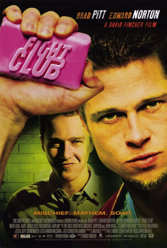 Fight Club  Top 10 Best Movies by Brad Pitt