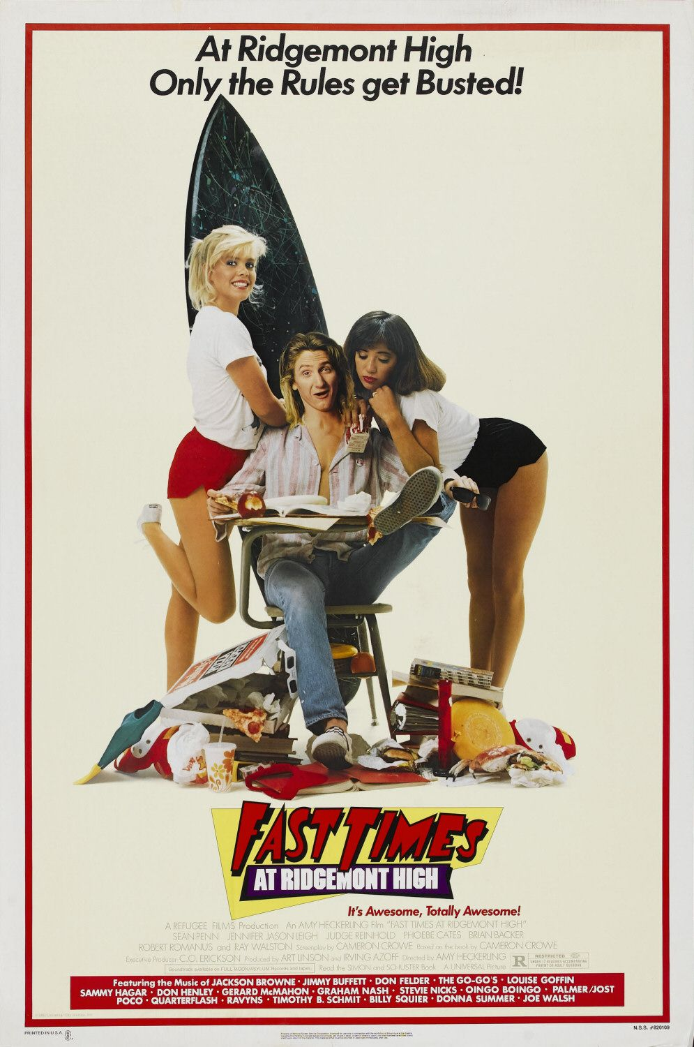 First Times at Ridgemont High Top 10 Best High School Movies