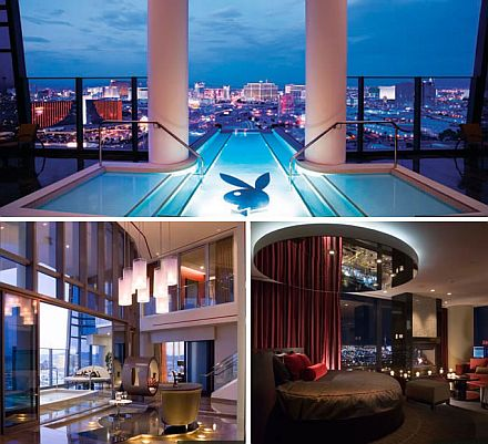 High Hefner Sky Villa Palms Casino Resort 2011 Top 10 Most Expensive Hotel Suites in The World