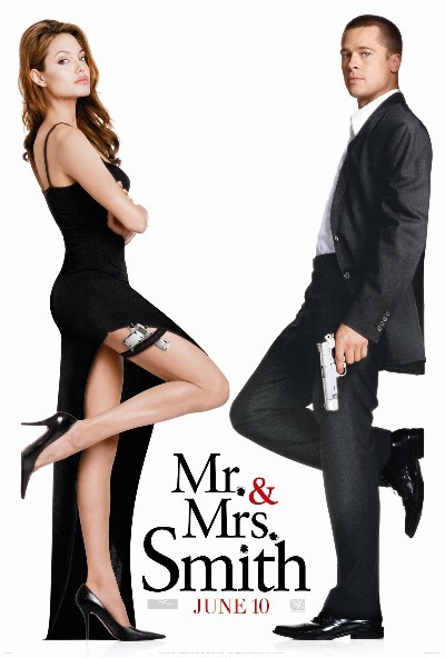 Mr. Mrs. Smith Top 10 Best Movies by Angelina Jolie