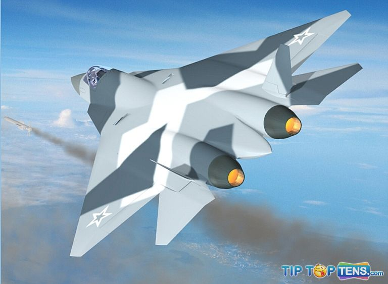 PAK FA Top 10 Best Fifth Generation Fighter Aircraft Projects