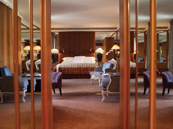 Royal Armleder Suite Le Richemond Top 10 Most Expensive Hotel Suites in The World