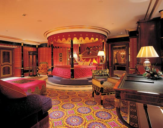 Royal Suite Burj Al Arab Top 10 Most Expensive Hotel Suites in The World