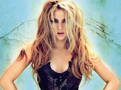 Shakira Top 10 Most Popular Female Singers in 2011