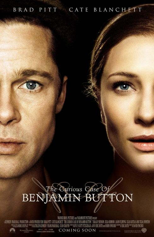 The Curious Case of Benjamin Button Top 10 Best Movies by Brad Pitt