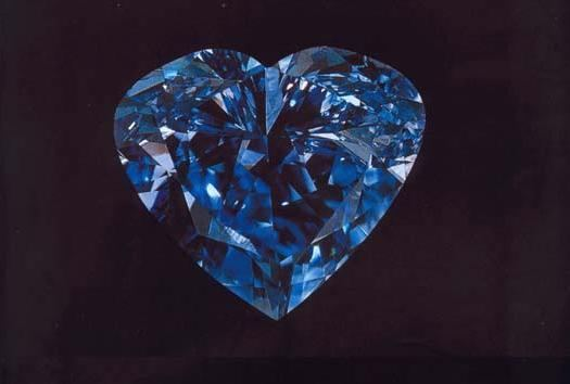 The Heart of Eternity Top 10 Most Expensive Diamonds in The World