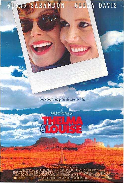 Thelma and Louise Movie 1991 Top 10 Best Movies by Brad Pitt