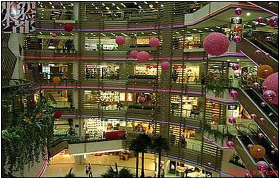 Zhengjia Shopping Plaza China Top 10 Largest Shopping Malls in the World