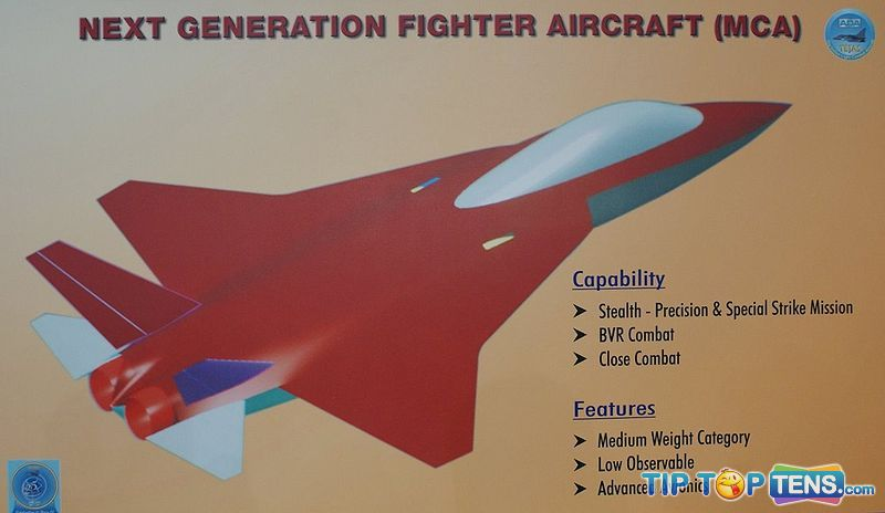 amca Top 10 Best Fifth Generation Fighter Aircraft Projects
