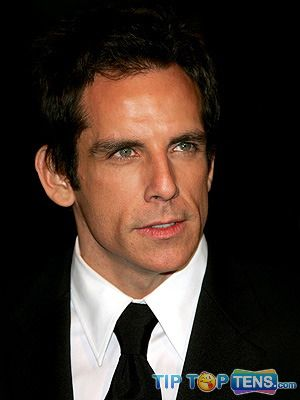 ben stiller Top 10 Richest Male Actors in The World  2011