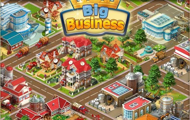 big business logo Top 10 Fastest Growing Facebook Games