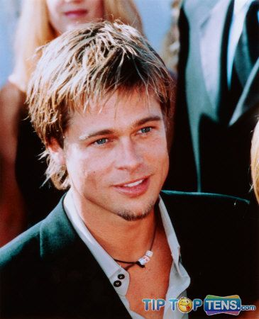 brad pitt 10 Famous Celebrities Who Used To Be a Stripper