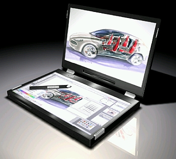 canova dual touch screen laptop 2 Top 10 Futuristic Concept Laptops