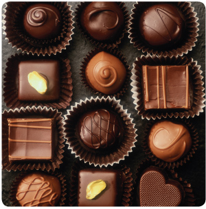 chocolate Top 10 Most Popular Food Items